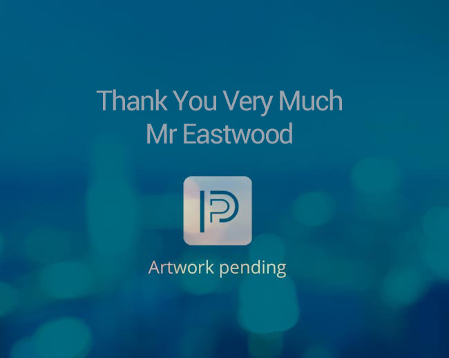 Thank You Very Much Mr Eastwood (In Pre-Production)