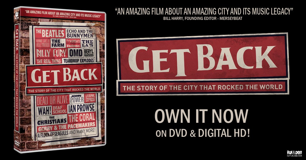 Bulldog Release Liverpool Music Documentary 'Get Back' Today!