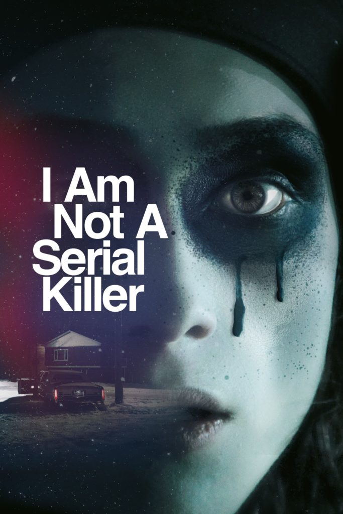 Create an alternative poster for 'I Am Not a Serial Killer'