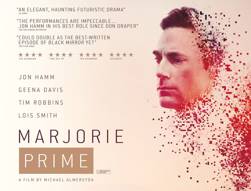 'Marjorie Prime' on Esquire's Best Films of 2017 List