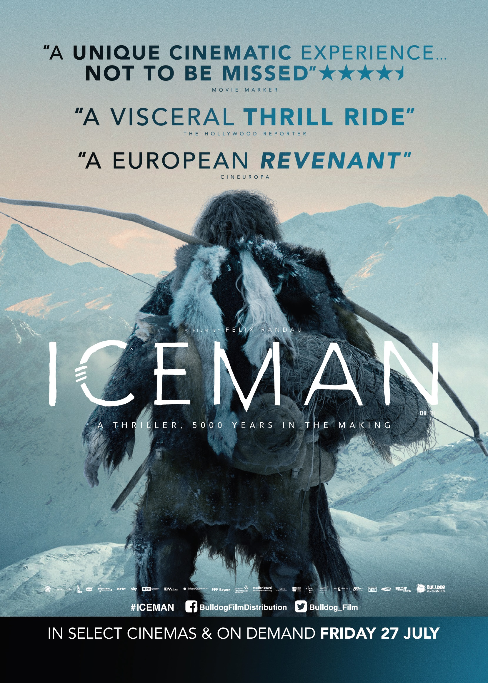 'Iceman' to be released on 27th July 2018