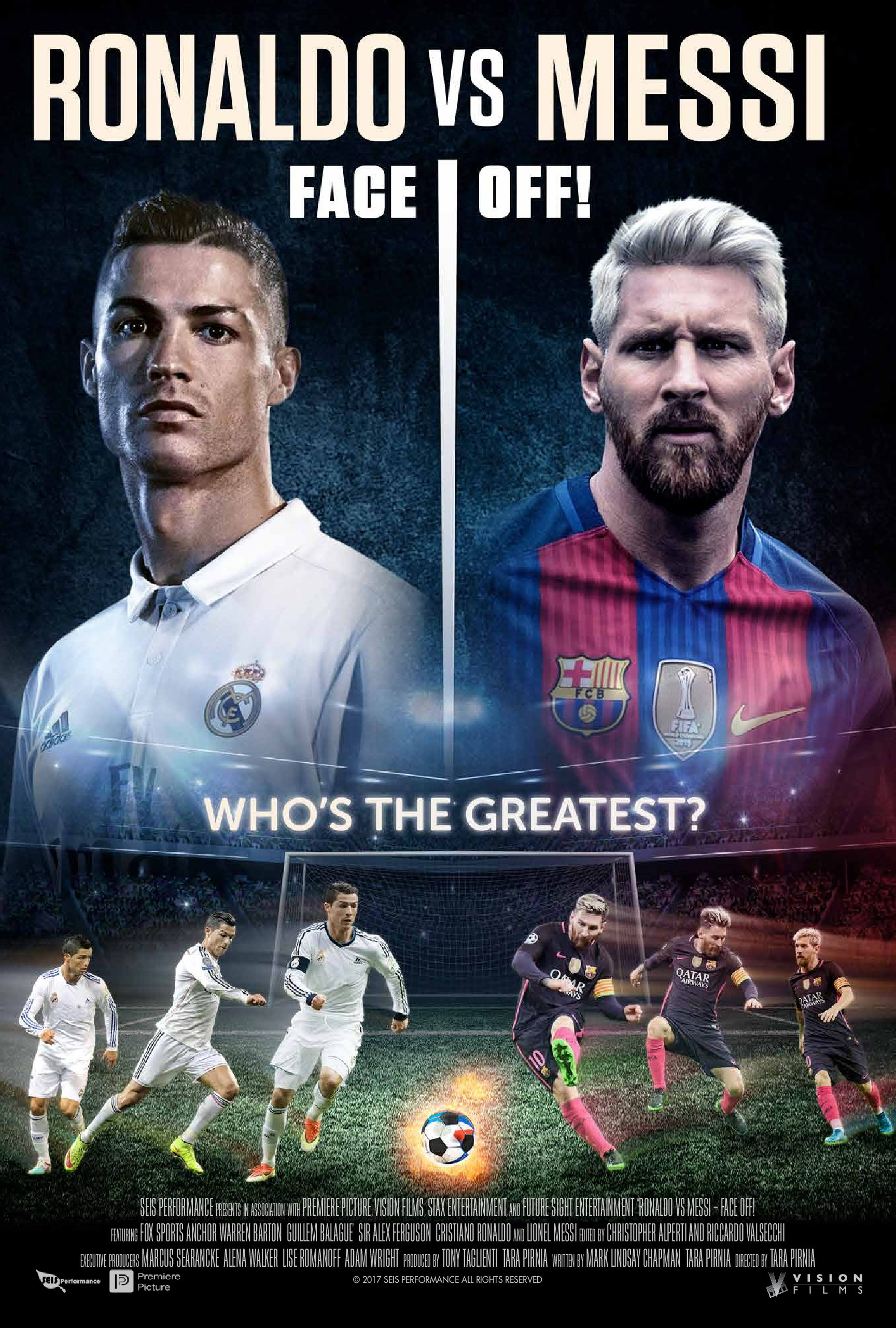 'Ronaldo vs Messi' now available internationally